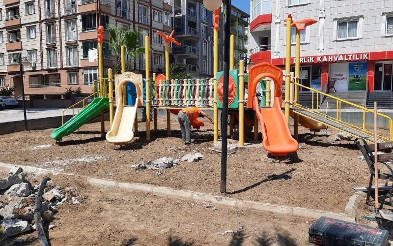Belediye Parkları Güzelleşiyor
